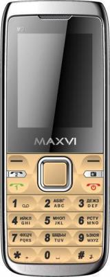 Мобильный телефон Maxvi M3 (золотой)
