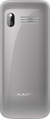 Мобильный телефон Maxvi V1 (серый)