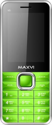 Мобильный телефон Maxvi V5 (зеленый)