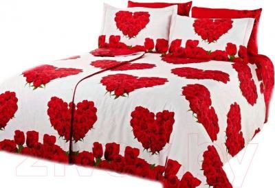 Комплект постельного белья Arya Сатин Печатное Семейное Mare / PB160X220MarS (160x220)