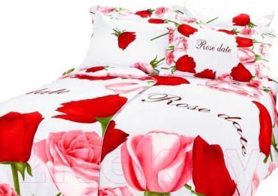Комплект постельного белья Arya Сатин Печатное Семейное Perla / PB160X220PelS (160x220)