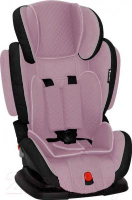 Автокресло Lorelli Magic Premium (серо-розовый)