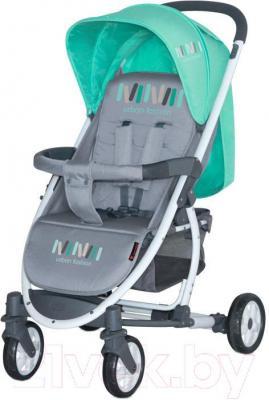 Детская прогулочная коляска Lorelli S300 (Grey Green)