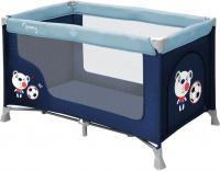 Кровать-манеж Lorelli Nanny 1 (Blue Soocer) -