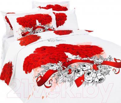 Комплект постельного белья Arya Сатин Печатное Angel White / PB160X220AnW (160x220)