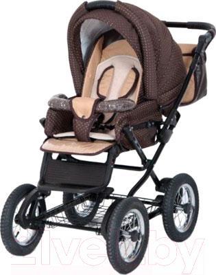 Детская универсальная коляска Riko Charlotte 2 в 1 (65) - прогулочный блок в другом цвете