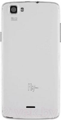 Смартфон Fly IQ4409 Era Life 4 (белый)