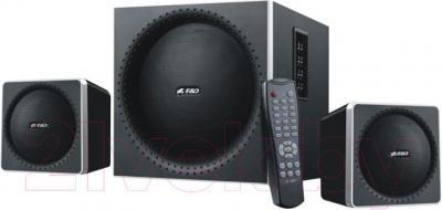 Мультимедиа акустика F&D A150X (черный) - общий вид