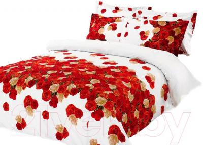 Комплект постельного белья Arya Сатин Печатное Rose Mary / PB160X220PM (160x220)