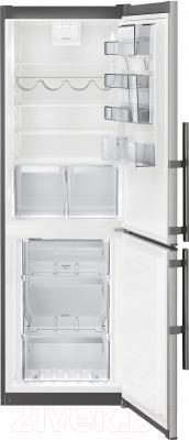 Холодильник с морозильником Electrolux EN3454MFX
