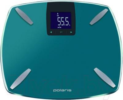 Напольные весы электронные Polaris PWS 1850DGF (бирюзовый)