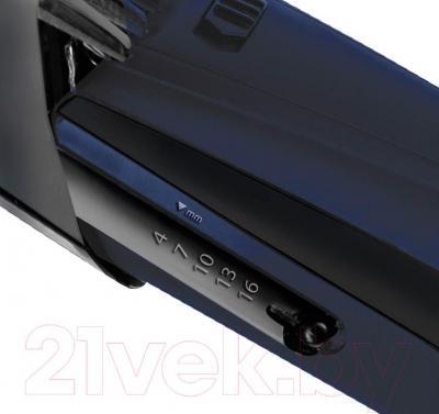 Машинка для стрижки волос Polaris PHC 0502RC (синий) - регулирование длины