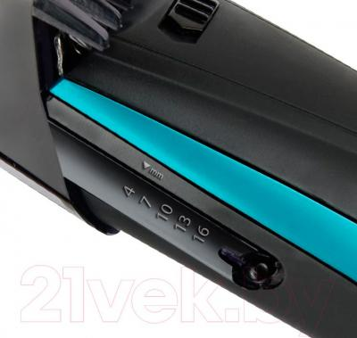 Машинка для стрижки волос Polaris PHC 0502RC (черный) - регулирование длины