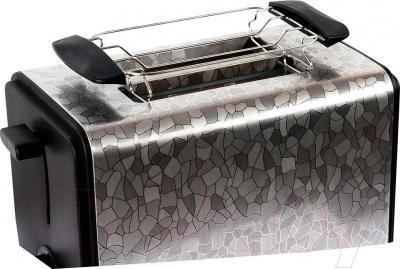 Тостер Polaris PET 0909 Crystal (черный) - решетка для булочек