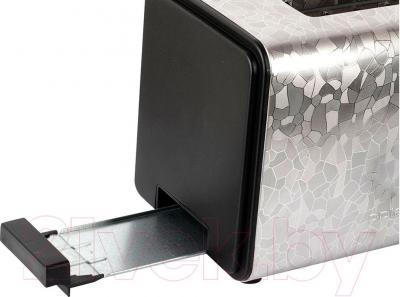 Тостер Polaris PET 0909 Crystal (черный) - отсек для крошек