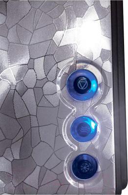 Тостер Polaris PET 0909 Crystal (черный)
