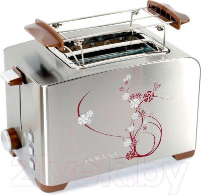 Тостер Polaris PET 0910 Sakura (коричневый)