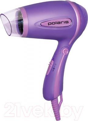 Компактный фен Polaris PHD 1241TR (лиловый)