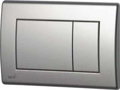 Кнопка для инсталляции Alcaplast M272 (матовый хром)