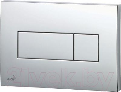 Кнопка для инсталляции Alcaplast M371 (глянцевый хром)