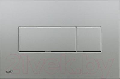 Кнопка для инсталляции Alcaplast M372 (матовый хром)