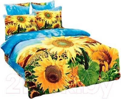 Комплект постельного белья Arya Сатин Печатное Flower Core / PB160X220FC (160x220)