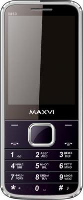 Мобильный телефон Maxvi X850 (черный)
