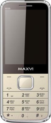 Мобильный телефон Maxvi X850 (золотой)