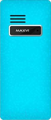Мобильный телефон Maxvi C7 (бело-синий)