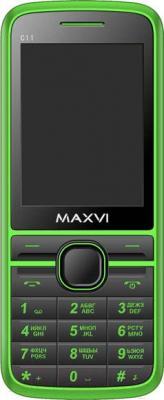 Мобильный телефон Maxvi C11 (зеленый)