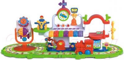 Развивающая игрушка Canhui Toys Музыкальный поезд BB360