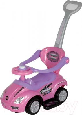 Каталка детская Chi Lok Bo 381С  (розовый)