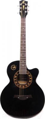 Акустическая гитара Swift Horse WG-380 C/BK (черный)