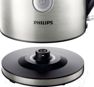 Электрочайник Philips HD9327/10 - металлическая подставка