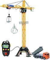 Детская игрушка Dickie Кран башенный с техникой 203462413 -