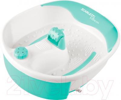 Ванночка для ног Scarlett SC-FM20101 (бело-зеленый)