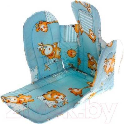 Сиденье мягкое для санок Ника СС2 (голубой)