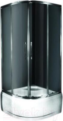 Душевой уголок Ventospa Standart B-LA 90x90 (Quad Silver)