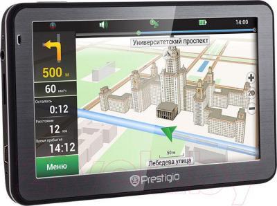 Портативный GPS-навигатор Prestigio GeoVision 5068 (PGPS5068CIS04GBPG) - фото 8