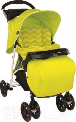 Детская прогулочная коляска Graco Mirage Plus / 6M195LZGU (лайм)