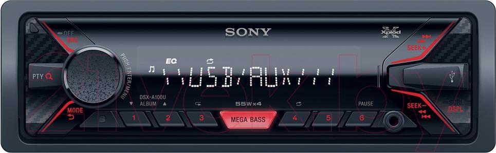Бездисковая автомагнитола Sony