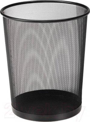 Корзина для бумаг Benedomo 19л (черный)