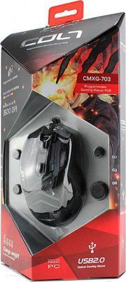 Мышь Crown Micro CMXG-703 Colt (черный) - упаковка