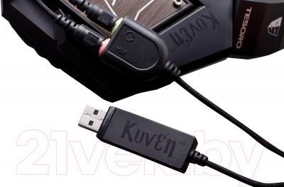 Наушники-гарнитура Tesoro Kuven 7.1 Devil TS-A1 (черный)