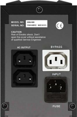 ИБП Crown Micro CMU-500 IEC - вид сзади