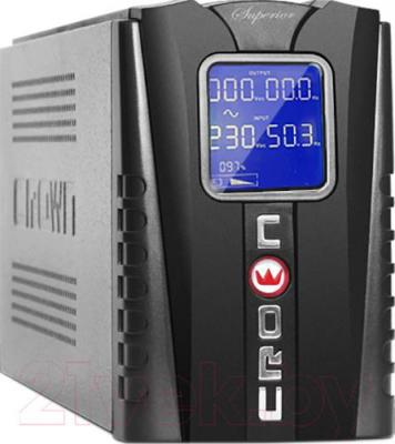 ИБП Crown Micro CMU-650 LCD