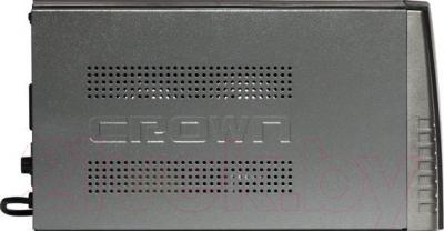 ИБП Crown Micro CMU-650 LCD - вид сбоку
