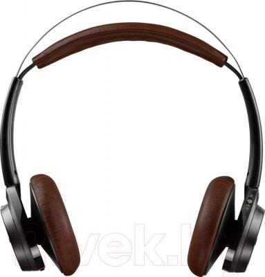 Наушники-гарнитура Plantronics BackBeat Sense (черный) - общий вид