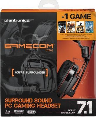 Наушники-гарнитура Plantronics GameCom 780