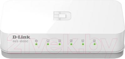 Коммутатор D-Link DES-1005C - вид спереди